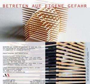 Flyer-Betreten-Auf-Eigene-Gefahr-Pascal-Brateau-aquabitArt
