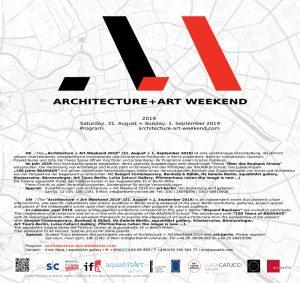 Flyer-Architecture-Art-Weekend-2019