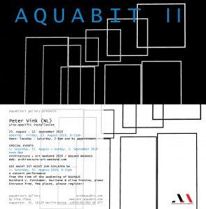 Flyer_AQUABIT-II_Peter-Vink-2019