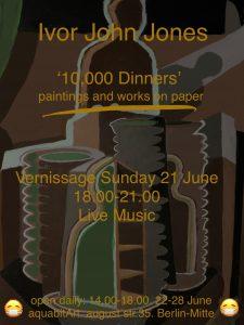 10 000 Dinners, Ivor Jones 2020