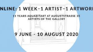 1 week - 1 artist - 1 artwork