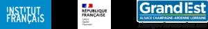Logo Institut français Logo French Ministry of Culture Logo REGION GRAND-EST